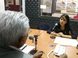 Yecenia Ramírez UMAR todo oaxaca radio 17marzo2015