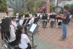 Enseñanza musical municipio Oaxaca de Juárez