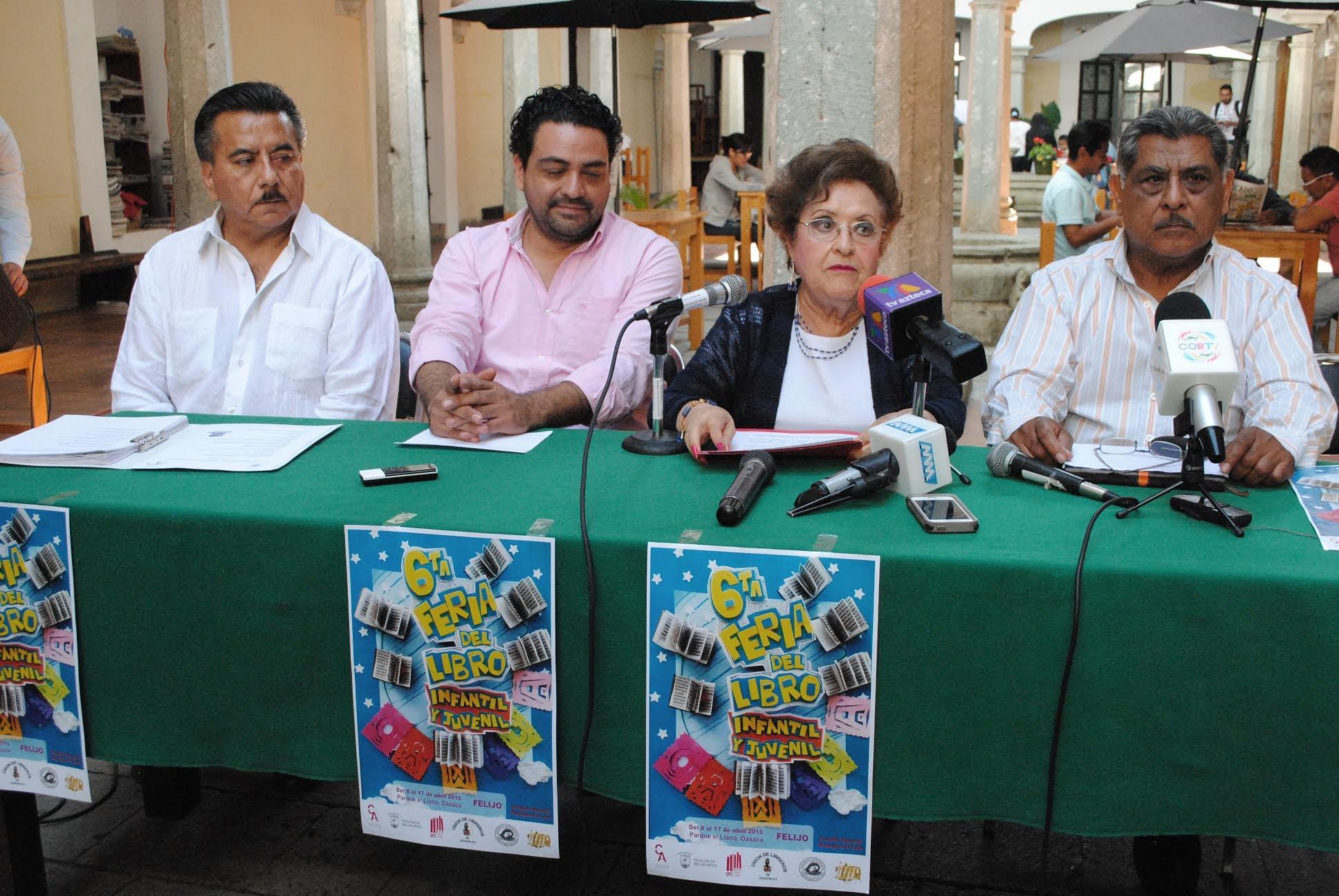 6a Feria del Libro Infantil y Juvenil Oaxaca 2